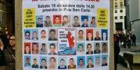 La migliore risposta all'aggressione è la presenza in piazza al presidio per i Nuovi Desaparecidos