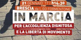 Brescia: in marcia per la vita, in marcia per l'accoglienza