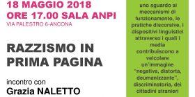 Razzismo in prima pagina. Il libro bianco ad Ancona