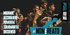 Giustizia ed eguaglianza contro il razzismo: il 21 ottobre a Roma