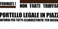 Roma: sportelli legali in piazza!