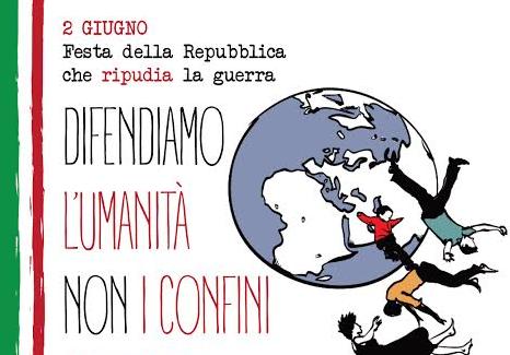 Difendiamo l'umanita', non i confini
