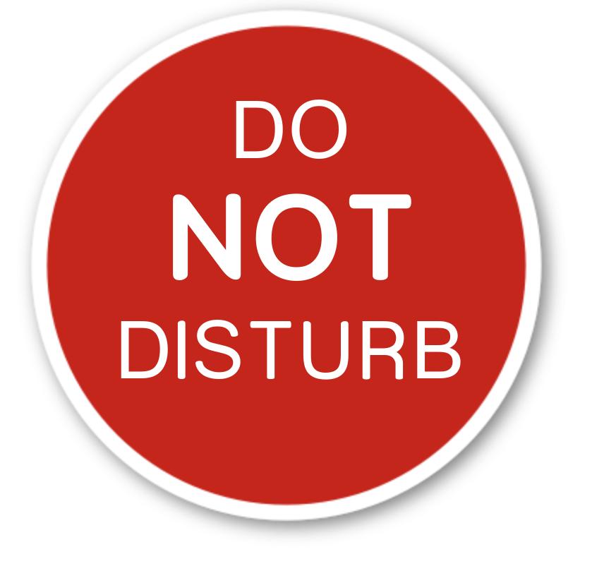 Do Not Disturb Plastic Dog Bed