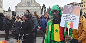 La comunità senegalese ricorda Idy Diene