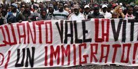 Rimini antirazzista scende in piazza in sostegno ad Emmanuel
