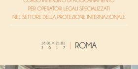 Protezione internazionale: corso intensivo per operatori