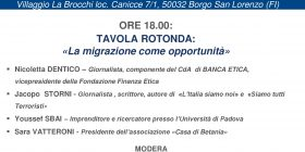 Orizzonti Alternativi, Banca Etica con i migranti