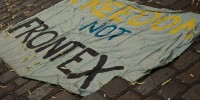 No Frontex. Manifestazione euromediterranea