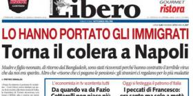 Gli immigrati e il colera a Napoli: ci risiamo