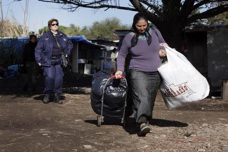 SICUREZZA, SGOMBERO PER BONIFICA AREA IN MUNICIPIO V - FOTO 7