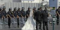 Milano, polizia interrompe il matrimonio e denuncia la sposa
