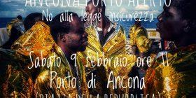 Ancona Porto Aperto. No alla Legge Insicurezza