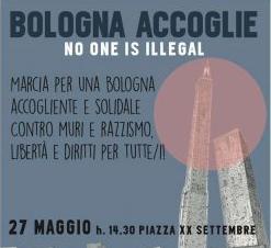 Bologna accoglie. No one is illegal: marcia per l'accoglienza