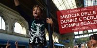 Marcia delle donne e degli uomini scalzi: seconda tappa