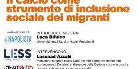 Il calcio come strumento di inclusione sociale dei migranti
