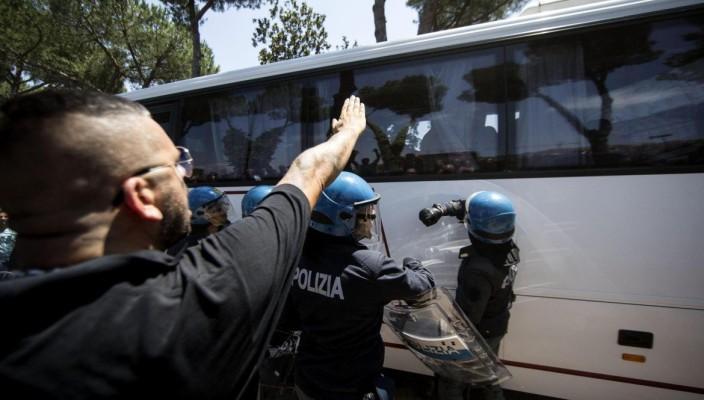 Il rifiuto dell'accoglienza: nove condanne per Casapound