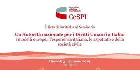 Un'Autorità nazionale per i Diritti Umani in Italia