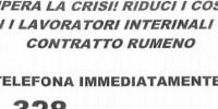 """""""Contratti rumeni"""": in Emilia un'agenzia interinale propone sfruttamento e caporalato"""