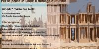 Per la pace in Libia: il dialogo culturale