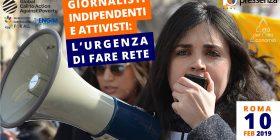 Giornalisti indipendenti e attivisti: l'urgenza di fare rete