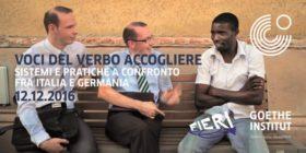 Voci del verbo ACCOGLIERE. Sistemi e pratiche a confronto fra Italia e Germania