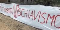 Castelnuovo Scrivia: prosegue la protesta dei braccianti, licenziati per essersi ribellati allo sfruttamento