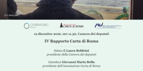 Notizie oltre i muri. IV Rapporto Carta di Roma