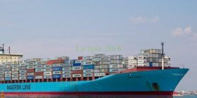 Alexander Maersk finalmente approdata a Pozzallo