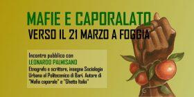 Mafie e caporalato: verso il 21 marzo a Foggia