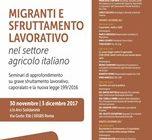 Migranti e sfruttamento lavorativo nel settore agricolo