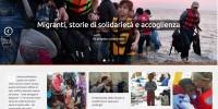 Migranti, storie di solidarietà e accoglienza. Un progetto collaborativo