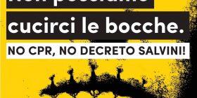 Manifestazione regionale contro i CPR e decreto Salvini