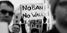 No al Muslim Ban: sit-in all'ambasciata