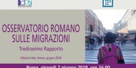 Tredicesimo Rapporto. Osservatorio Romano sulle Migrazioni