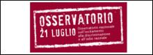 Vai al sito dell'Osservatorio 21 Luglio