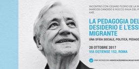 La pedagogia del desiderio e l'essere migrante