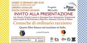 Milano. Presentazione Quarto libro bianco sul razzismo in Italia