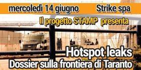 Hotspot leaks: dossier sulla frontiera di Taranto